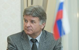 Russia's Ambassador to Estonia Alexander Petrov