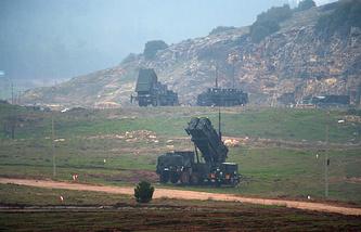 Противоракетный комплекс Patriot в Турции