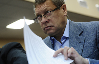 Генеральный директор ОАО Мечел Игорь Зюзин.
