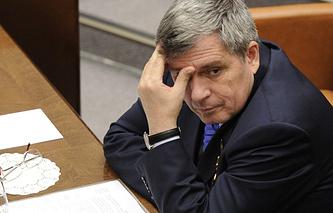 Председатель Парламента Чеченской Республики Дукуваха Абдурахманов