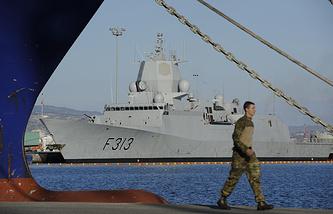 Норвежский фрегат сопровождения