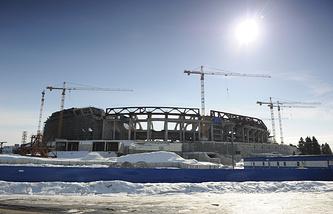 """Строящийся стадион """"Зенит-Арена"""""""