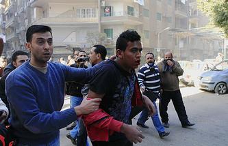 Задержание сторонников Мухаммеда Мурси в Каире