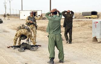 Британские военнослужащие в Ираке