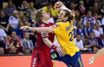 Сборная России по гандболу уступила команде Швеции на ЧЕ