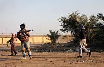 Контртеррористическая операция недалеко от Эль-Фаллуджи