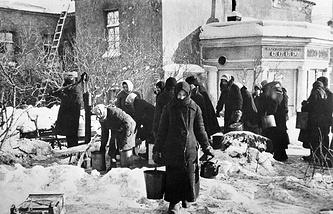 Блокада Ленинграда, 1941 г.