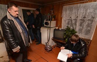 Обыск в квартире заммэра Читы Вячеслава Шуляковского