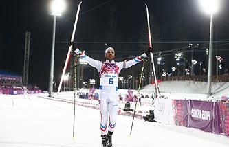 Французский биатлонист Мартен Фуркад