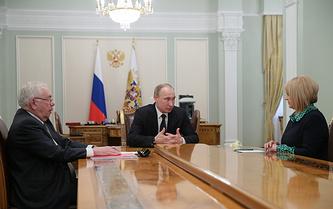 Владимир Лукин, Владимир Путин и Элла Памфилова