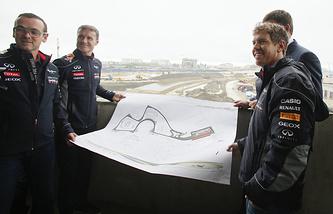 Проект трассы Гран-при России