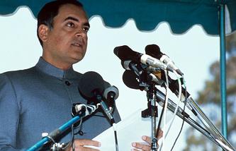 Раджив Ганди, 1986 год