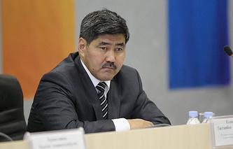 Министр спорта Казахстана Тастанбек Ессентаев