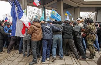 Во время митинга 26 февраля