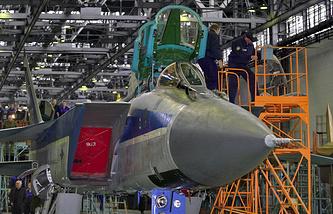 Новый самолет МиГ-41 будет создан на базе МиГ-31. Сборка самолета МИГ-31
