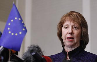 Верховный представитель ЕС по иностранным делам и политике безопасности Кэтрин Эштон
