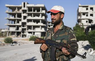 Сирийский военнослужащий