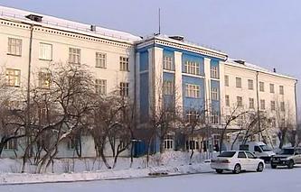 Здание управления Усольехимфарм