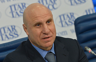 Вице-президент FILA Михаил Мамиашвили