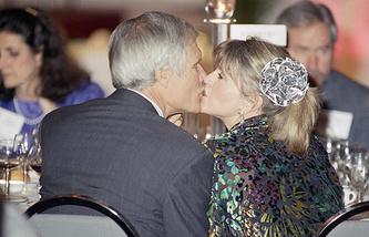 Тед Тёрнер и Джейн Фонда, 1992 год