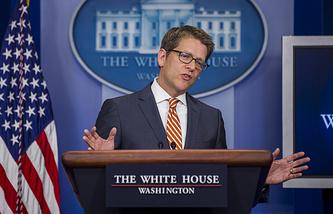 Пресс-секретарь Белого дома Джей Карни