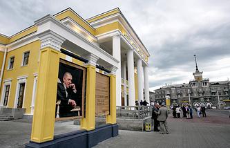 Здание Алтайского молодежного театра