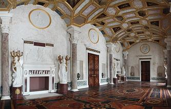 Агатовые комнаты (Большой зал)