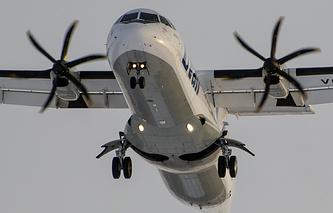 """Самолет ATR-72-500 авиакомпании """"Ютэйр"""""""
