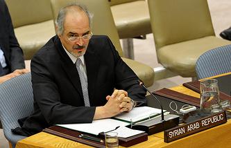 Постоянный представитель САР при ООН Башар Джаафари