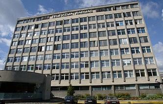 Здание Литовского национального радио и телевидения