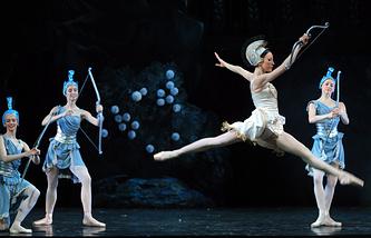Предпремьерный показ балета Сильвия в Мариинском театре