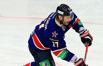 Хоккеист СКА Илья Ковальчук