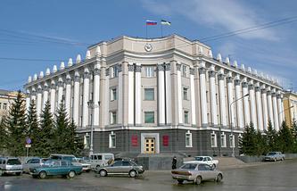 Здание Народного Хурала Бурятии