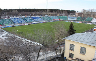 """Спортивный стадион """"Уралмаш"""""""