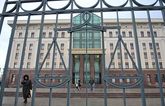 Здание городского суда в Санкт-Петербурге.