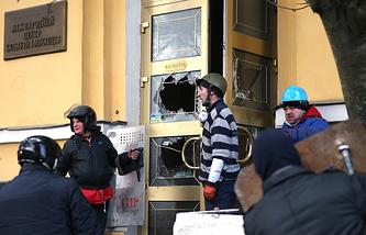 Ситуация на площади Независимости в Киеве