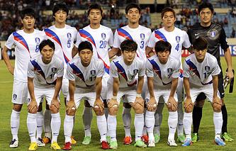 Сборная Южной Кореи