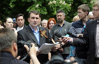 Председатель ЦИК самопровозглашенной Луганской народной республики Александр Малыхин