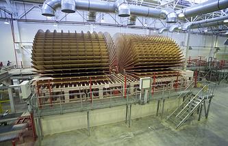 Линия по производству древесно-стружечных плит
