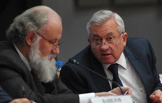 Владимир Чуров и Леонид Ивлев