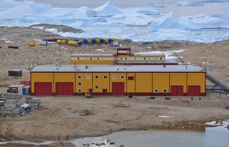 Зимовочный комплекс Прогресс в Антарктиде