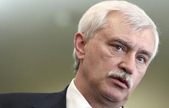 Временно исполняющий обязанности губернатора Санкт-Петербурга Георгий Полтавченко
