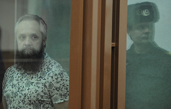 Алексей Савосин в зале Свердловского областного суда