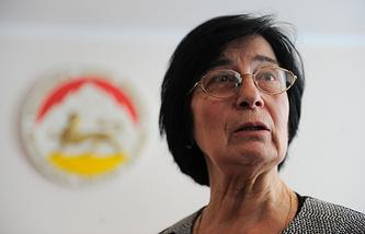 Председатель Центральной избирательной комиссии Южной Осетии Белла Плиева