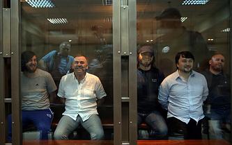Рустам Махмудов, Лом-Али Гайтукаев, Джабраил Махмудов, Ибрагим Махмудов и Сергей Хаджикурбанов