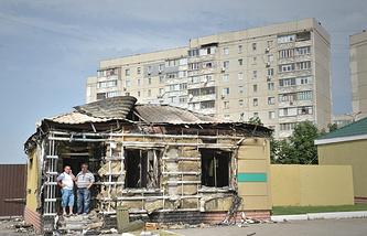 Архив. Луганск, 4 июня 2014 года