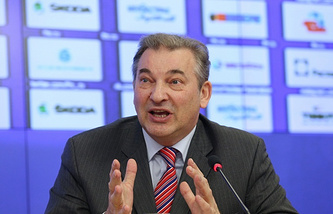 Действующий президент ФХР Владислав Третьяк