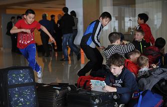 В екатеринбургском аэропорту Кольцово