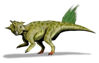 Сибирский пситтакозавр, реконструкция