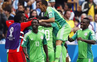 Сборная Нигерии по футболу сыграет в плей-офф с командой Франции